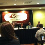 Photo taken at SES Search Engine Strategies New York by Jonathan R. on 3/21/2012