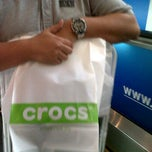 Photo taken at Crocs by siti nurhanim a. on 10/2/2011