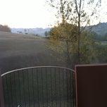 Photo taken at San Valentino Golf Club by federico g. on 9/30/2011
