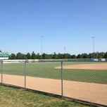 Photo taken at Sherman Baseball Stadium by Adam B. on 6/18/2012