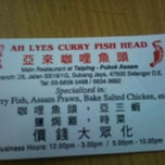 Photo taken at Ah Lye Curry Fish Head by Amy VV on 9/30/2011