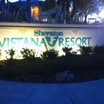 Photo taken at Sheraton Vistana Resort Villas, Lake Buena Vista/Orlando by Kristen K. on 3/6/2011
