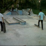 Photo taken at AB Skatepark by Fajar K. on 10/19/2011