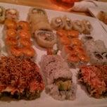 Photo taken at Koko Sushi Bar & Lounge by Ali B. on 1/4/2012