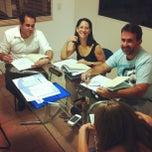Photo taken at UNS Idiomas Jabaquara by Amanda D. on 2/28/2012