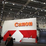 Photo taken at Canon @ Drupa 2012 by Tobias M. on 5/11/2012