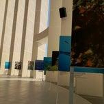 Photo taken at Explanada by Universidad del Caribe on 2/15/2012
