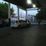 Photo taken at Estação Rodoviária de Rio Grande by Manuela C. on 2/16/2012