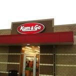 Photo taken at Kum & Go by edward r. on 4/30/2012