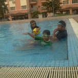 Photo taken at Sri Hijau swimming pool by Syiera S. on 1/2/2012