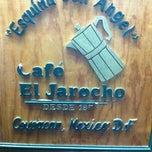 Photo taken at Café El Jarocho by Katt N. on 11/25/2011