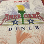 Photo taken at The Americana Diner by Steven J. on 6/30/2012