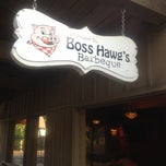Photo taken at Boss Hawg's BBQ & Pigskin's Sports Bar by Denise B. on 7/6/2012