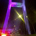 Photo taken at Jembatan Suramadu (Suramadu Bridge) by Onald H. on 1/10/2012