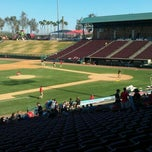 Photo taken at Lake Elsinore Diamond Stadium by Isaac M. on 6/3/2012