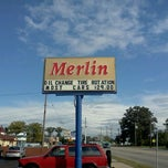 Photo taken at Merlin 200000 Miles Shop by Alex T. on 9/24/2011