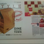 Photo taken at Five Guys by Prim P. on 4/14/2012
