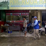 Photo taken at RM Padang Roda Baru by Wahyu T. on 5/18/2012