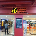 Photo taken at Golden Screen Cinemas (GSC) by shah z. on 8/7/2012
