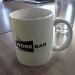 Photo taken at Workbar by Ginnette P. on 8/19/2011