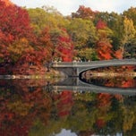 Photo taken at Central Park - Bow Bridge by Jeff W. on 9/23/2011