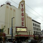 Photo taken at Vogue Theatre by Yosuke S. on 7/21/2011