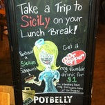 Photo taken at Potbelly Sandwich Shop by Henry V. on 11/3/2011