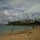 Photo taken at Napili Beach by Joyce Y. on 8/28/2012