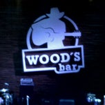 Photo taken at Wood's Bar by Carolina B. on 6/17/2012