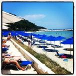 Photo taken at Makryammos Bungalows Hotel by Zoran N. on 6/26/2012