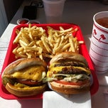 Photo taken at In-N-Out Burger by Amanda A. on 4/17/2012