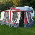 Photo taken at Oldbury Hill Camping and Caravanning Club Site by Anna B. on 8/21/2012