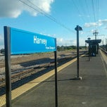 Photo taken at Metra - Downtown Harvey by Kenny P. on 9/4/2011
