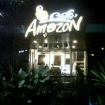 Photo taken at Café Amazon (คาเฟ่ อเมซอน) by Tum M. on 9/22/2011