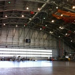 Photo taken at NASA Langley Flight Research Hangar by John B. on 11/8/2011