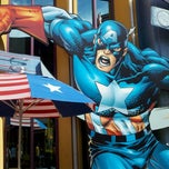 Photo taken at Captain America Diner by Keith S. on 9/21/2011