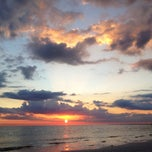 Photo taken at Fort Myers Beach by Christian L. on 12/29/2011