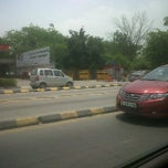Photo taken at BRT Corridor by Akshar P. on 6/14/2011