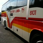 Photo taken at Victory Liner (Cubao Terminal) by Geneson F. on 7/16/2012