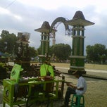 Photo taken at Alun - Alun Banjarnegara by Agung B. on 9/19/2011