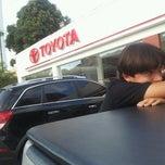 Photo taken at Toyota - Carvalho & Filhos by Alexandre S. on 8/21/2012