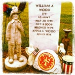 Photo taken at Rugby Cemetery by Evie W. on 5/1/2012