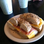 Photo taken at Roland Park Bagel Co. by Andrew F. on 5/20/2011