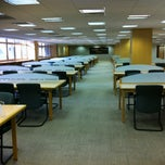 Photo taken at NUS Central Library by Penny P. on 8/18/2012
