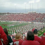 Photo taken at War Memorial Stadium / AT&T Field by Gina G. on 11/19/2011