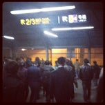Photo taken at 镇坪路地铁站 | Zhenping Rd. Metro Stn. by Leynad M. on 11/25/2011