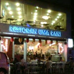Photo taken at Restoran Uma Rani by magnasaint on 1/23/2012