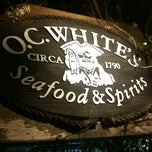 Photo taken at O.C. White's by Chris B. on 5/12/2012