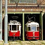 Photo taken at Vienna Tram Museum by Mario L. on 1/29/2012