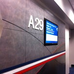 Photo taken at Gate A29 by Mark H. on 7/26/2011